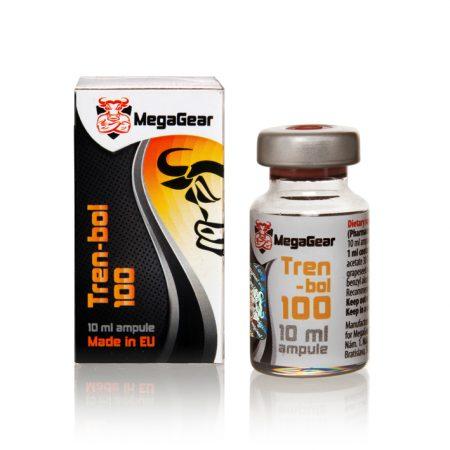 Ксеноандрогени са професионални хранителни добавки Tren-bol 100 Mega Gear