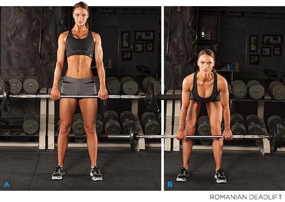упражнения за задната част на краката