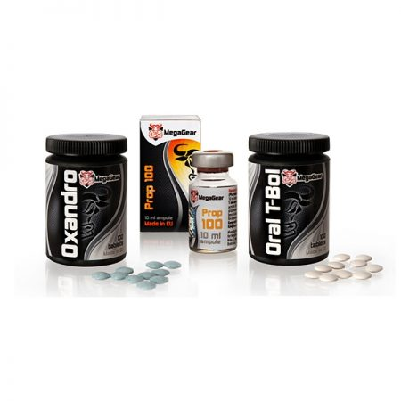 Oxandro Prop 100 Oral T-bol стак за сила и издържливост от Mega Gear ксеноандрогени